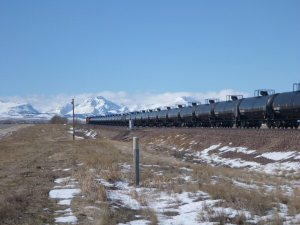 Bakken oil heading west